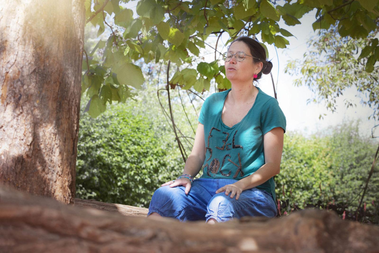 photo atelier Respire au parc Mosaic. Prise par mj-photographies